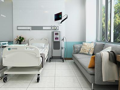 空っぽの病室