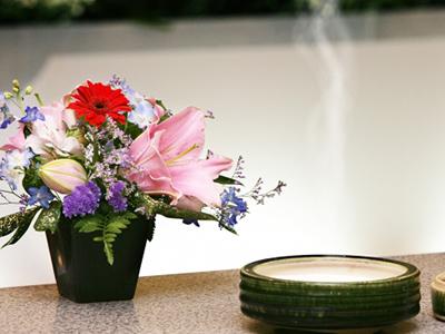 焼香と供花