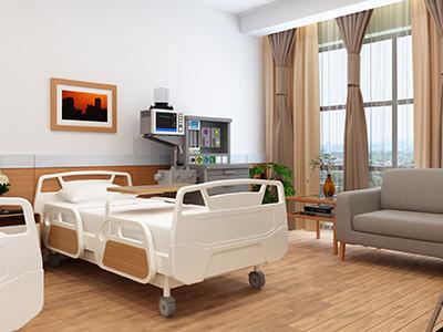 入院中の患者が亡くなった病室